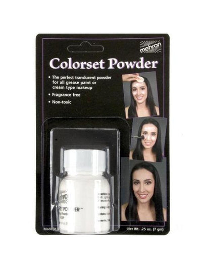 Colourset Powder Carded 7g-Make up and Special FX-Jokers Costume Hire and Sales Mega Store
