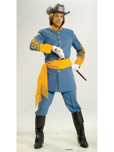 Confederate Soldier Collector'S Edition - Size M-Costumes - Mens-Jokers Costume Hire and Sales Mega Store