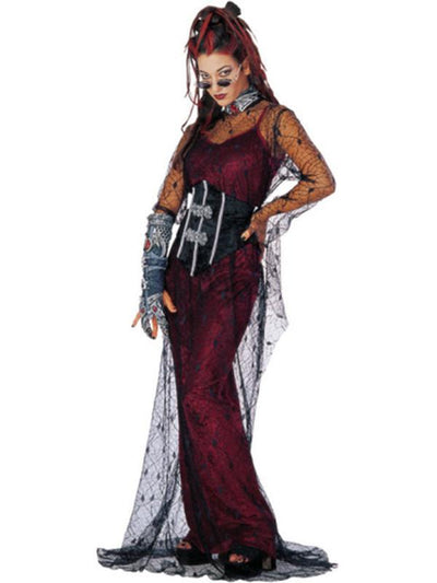 Contessa De Muerte - Size Std-Costumes - Women-Jokers Costume Hire and Sales Mega Store