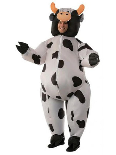 Cow Inflatable Costume - Size Std-Costumes - Mens-Jokers Costume Hire and Sales Mega Store