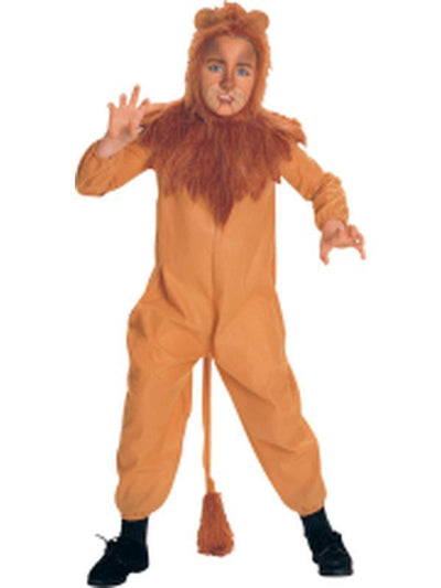 Cowardly Lion Child Costume - Size S-Costumes - Boys-Jokers Costume Hire and Sales Mega Store