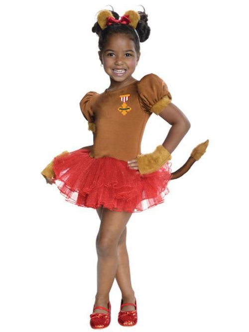 Cowardly Lion Tutu Costume - Size M-Costumes - Girls-Jokers Costume Hire and Sales Mega Store