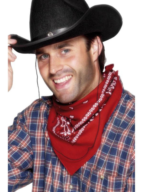 Cowboy Bandana-Hats and Headwear-Jokers Costume Hire and Sales Mega Store