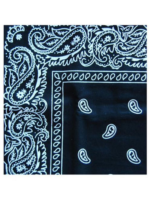 Cowboy Bandanna - Black-Costume Accessories-Jokers Costume Hire and Sales Mega Store