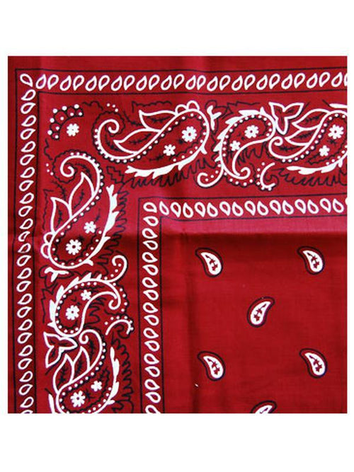 Cowboy Bandanna - Red-Costume Accessories-Jokers Costume Hire and Sales Mega Store