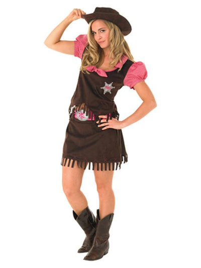Cowgirl Costume - Size S-Costumes - Women-Jokers Costume Hire and Sales Mega Store