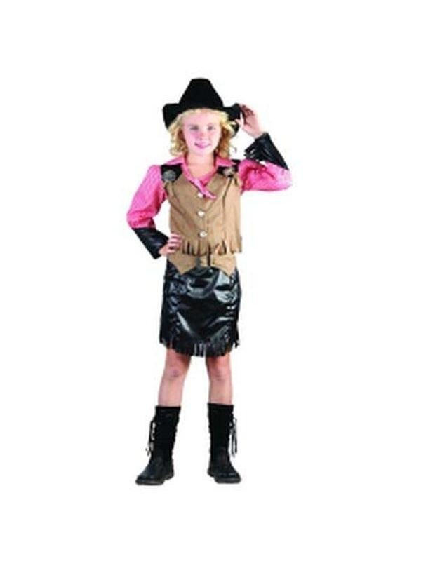 Cowgirl & Hat - Child - Small***-Jokers Costume Mega Store