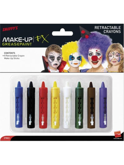 Crayon Make-Up Sticks-Make up and Special FX-Jokers Costume Hire and Sales Mega Store