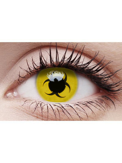 Crazy Lens Contacts - Bio Hazard-Contact Lens - Crazy Lens 3 months-Jokers Costume Hire and Sales Mega Store