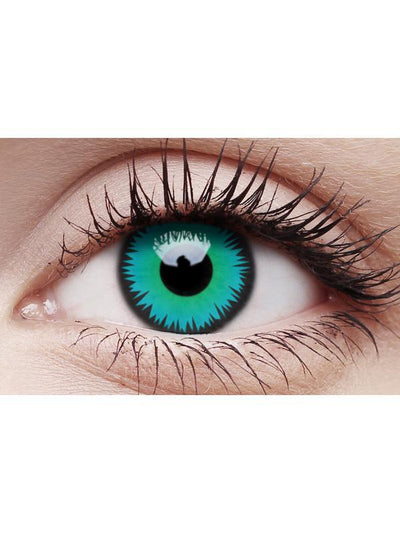 Crazy Lens Contacts - Green Werewolf-Contact Lens - Crazy Lens 3 months-Jokers Costume Mega Store
