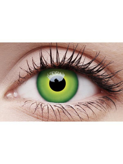 Crazy Lens Contacts - Hulk Green-Contact Lens - Crazy Lens 3 months-Jokers Costume Hire and Sales Mega Store