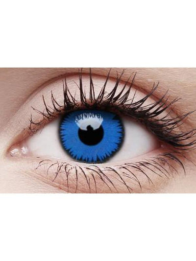 Crazy Lens Contacts - Space Blue-Contact Lens - Crazy Lens 3 months-Jokers Costume Hire and Sales Mega Store