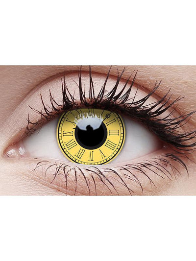 Crazy Lens Contacts - Timekeeper-Contact Lens - Crazy Lens 3 months-Jokers Costume Hire and Sales Mega Store
