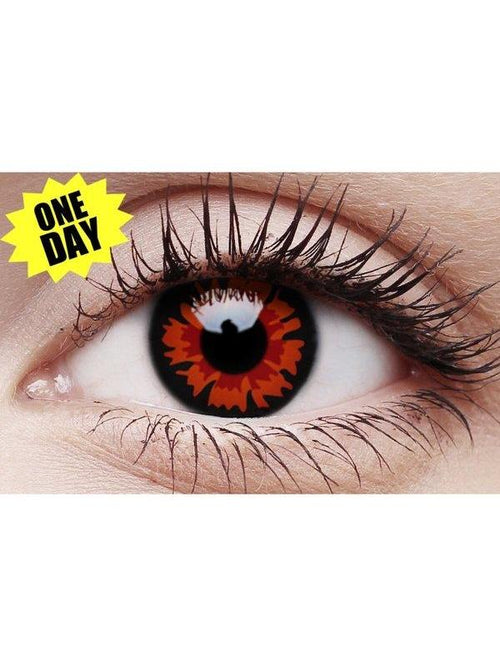 Crazy One-Day Contact Lens - Volturi-Contact Lens - Crazy One Day-Jokers Costume Hire and Sales Mega Store