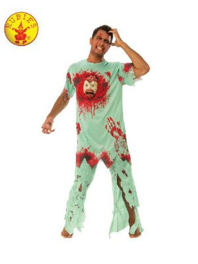 CRAZY PATIENT COSTUME-Costumes - Mens-Jokers Costume Hire and Sales Mega Store