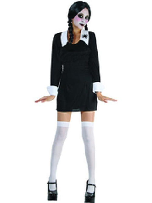 Creepy School Girl - Adult - Large-Costumes - Girls-Jokers Costume Hire and Sales Mega Store