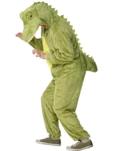 Crocodile Costume, Jumpsuit-Costumes - Mens-Jokers Costume Hire and Sales Mega Store