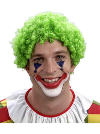 Curly Clown Wig - Green-Wigs-Jokers Costume Hire and Sales Mega Store