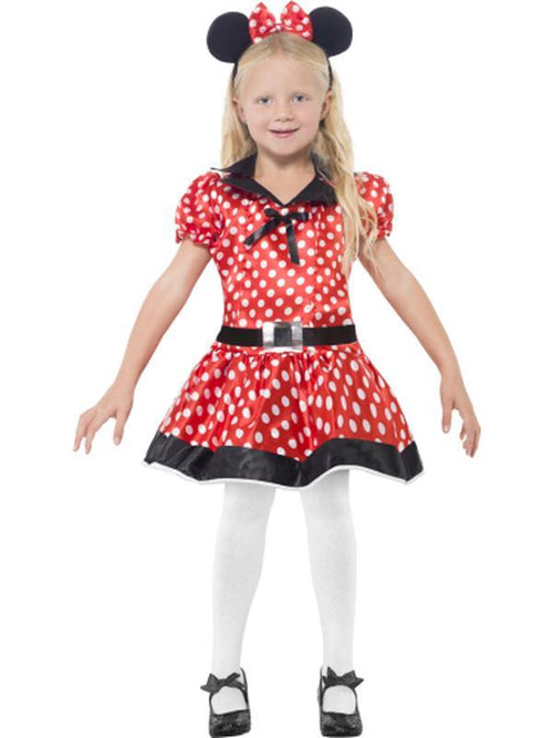 Cute Mouse Costume-Costumes - Girls-Jokers Costume Hire and Sales Mega Store