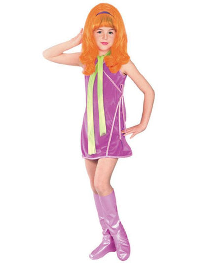 Daphne Deluxe Costume - Size S-Costumes - Girls-Jokers Costume Hire and Sales Mega Store