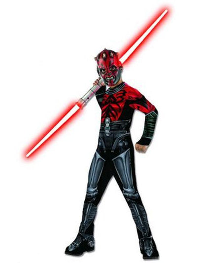 Darth Maul Mechanical Classic - Size S-Costumes - Boys-Jokers Costume Hire and Sales Mega Store