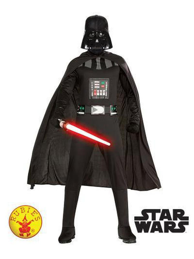 DARTH VADER ADULT - SIZE STD-Costumes - Mens-Jokers Costume Hire and Sales Mega Store