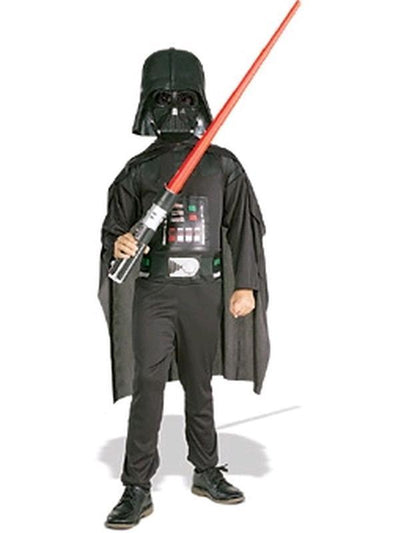 Darth Vader Boxed Costume - Size M-Costumes - Boys-Jokers Costume Mega Store