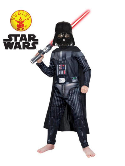 DARTH VADER CLASSIC, CHILD - SIZE 3-5-Costumes - Boys-Jokers Costume Hire and Sales Mega Store
