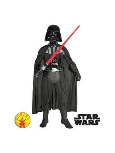 Darth Vader Deluxe Costume - Size M-Costumes - Boys-Jokers Costume Hire and Sales Mega Store