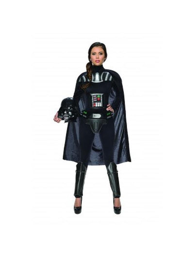 Darth Vader Female - Size S-Costumes - Women-Jokers Costume Hire and Sales Mega Store