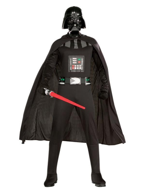 Darth Vader Suit Adult - Size Xl (Was 16800Xl)-Costumes - Mens-Jokers Costume Hire and Sales Mega Store