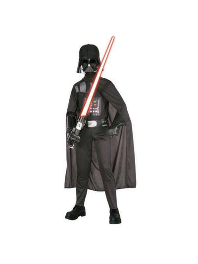 Darth Vader Suit Child - Size M-Costumes - Boys-Jokers Costume Hire and Sales Mega Store
