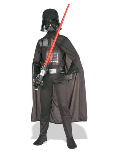Darth Vader Suit Classic Child - Size M-Costumes - Boys-Jokers Costume Hire and Sales Mega Store