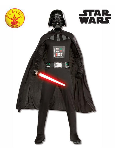 DARTH VADER SUIT - SIZE STANDARD-Costumes - Mens-Jokers Costume Hire and Sales Mega Store
