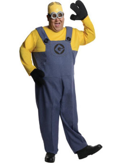 Dave Minion- Size Plus-Costumes - Mens-Jokers Costume Hire and Sales Mega Store