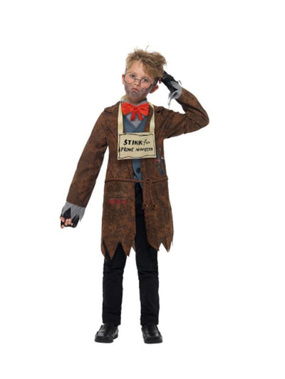 David Walliams Deluxe Mr Stink Costume-Costumes - Boys-Jokers Costume Hire and Sales Mega Store