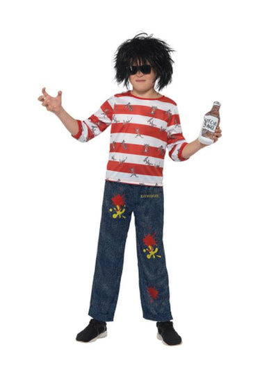 David Walliams Deluxe Ratburger Costume-Costumes - Boys-Jokers Costume Hire and Sales Mega Store