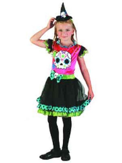 Day Of The Dead - Child - Large***-Costumes - Girls-Jokers Costume Hire and Sales Mega Store