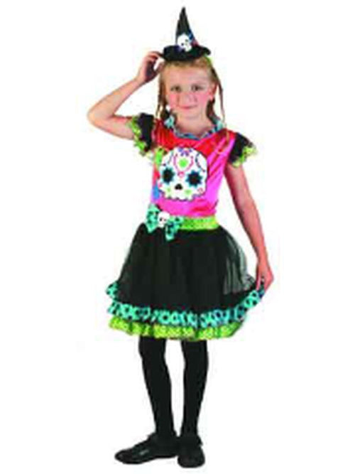 Day Of The Dead - Child - Medium***-Costumes - Girls-Jokers Costume Hire and Sales Mega Store