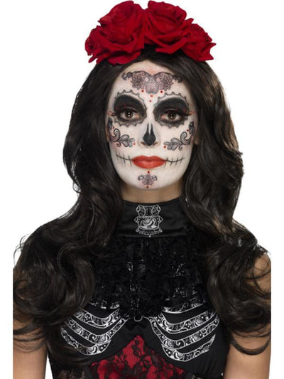 Day of the Dead Glamour Make-Up Kit-Make up and Special FX-Jokers Costume Hire and Sales Mega Store