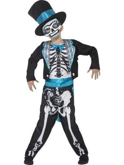 Day of the Dead Groom Costume-Costumes - Boys-Jokers Costume Hire and Sales Mega Store