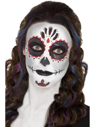 Day of the Dead Make-Up Kit, with Face Paints-Make up and Special FX-Jokers Costume Hire and Sales Mega Store