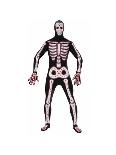 Day Of The Dead Mens - Size Std-Costumes - Mens-Jokers Costume Hire and Sales Mega Store