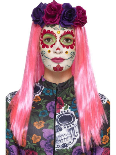 Day of the Dead Sweetheart Make-Up Kit-Make up and Special FX-Jokers Costume Hire and Sales Mega Store