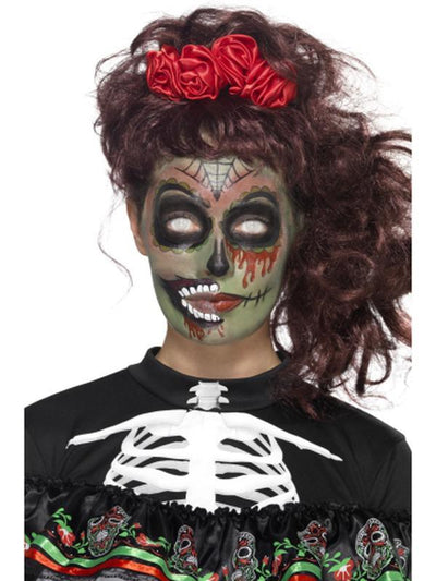 Day of the Dead Zombie Make-Up Kit-Make up and Special FX-Jokers Costume Hire and Sales Mega Store