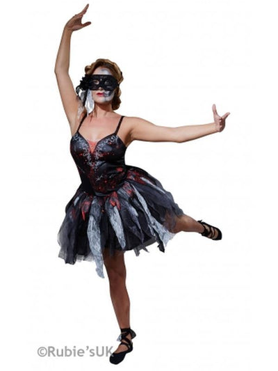 Dead Ballerina Costume - Size L-Costumes - Women-Jokers Costume Hire and Sales Mega Store