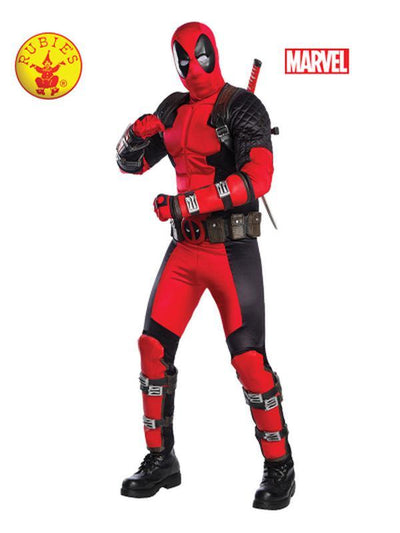 DEADPOOL COLLECTOR'S EDITION - SIZE STD-Costumes - Mens-Jokers Costume Hire and Sales Mega Store