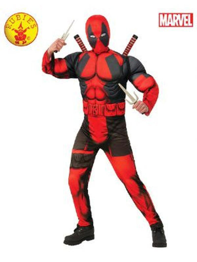 DEADPOOL COSTUME - SIZE TEEN-Costumes - Boys-Jokers Costume Mega Store