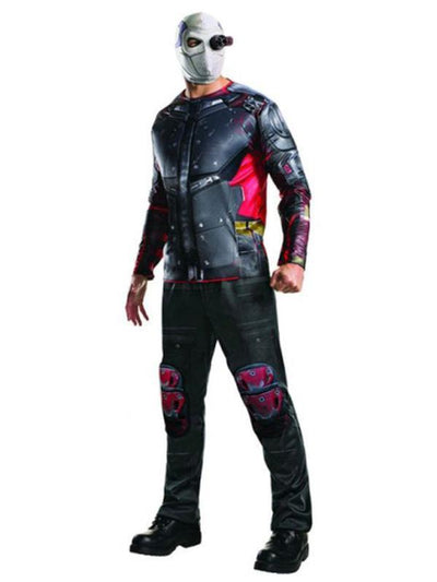Deadshot Deluxe Costume - Size Std-Costumes - Mens-Jokers Costume Hire and Sales Mega Store