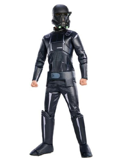 Death Trooper Rogue One Deluxe - Size 6-8-Costumes - Boys-Jokers Costume Hire and Sales Mega Store